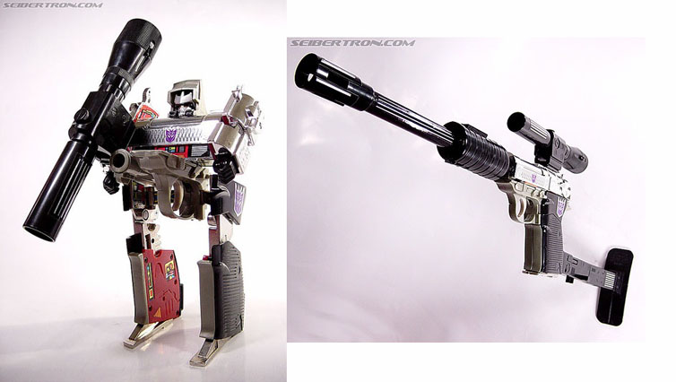 Image Gallery original megatron toy