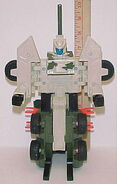 Unproduced GIJoe Generation2 Transformer