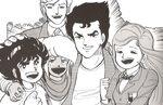 Ginrai juniors manga