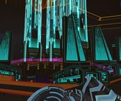 TRON Wiki - 49433-tron-2-0-windows-screenshot-spires-of-the-internet 1
