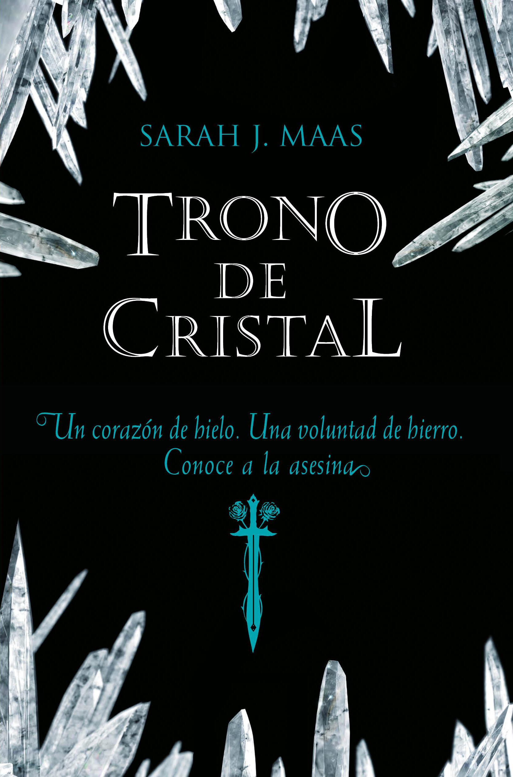 Resultado de imagen de trono de cristal portada
