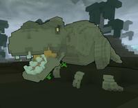 Tyrannosaurus Rex ingame