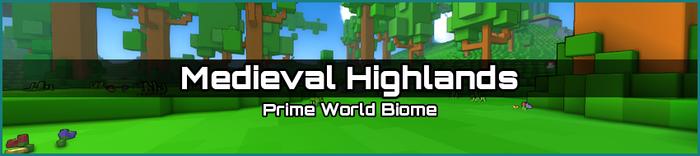 Medieval Highlands biome banner
