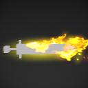Weapon aura melee fire 01.pkfx
