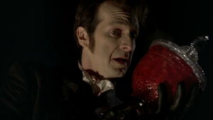 3x09 -russell vows to talbots gooey remains in a jar that he will be avenged