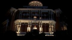3x09 -russell edgington's mansion at night