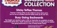 Sticky Toffee Thomas/Busy Going Backwards
