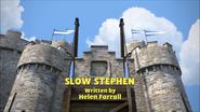 SlowStephentitlecard