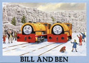 BillandBeninthesnow