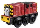 WoodenRailwayBatteryPoweredSalty