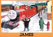 JamesintheSnowPostcard