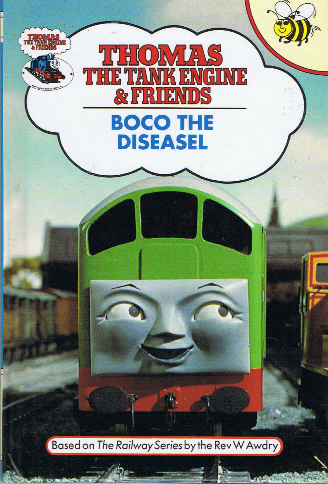 Image boco in trainz thomas and friends png scratchpad fandom - Boco The Diseasel Buzz Book Thomas The Tank Engine