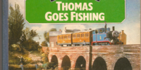 Thomas Goes Fishing (board book)