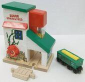 WoodenRailwayGrainLoader