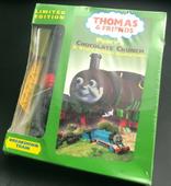 Percy'sChocolateCrunchVHSwithWoodenRailwayBreakdownTrain