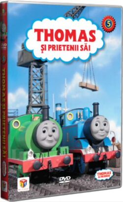 ThomasandFriendsVolume5RomanianDVD