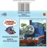 ThomasandTerenceandJamesandtheTarWagonsLadybirdcassettecover