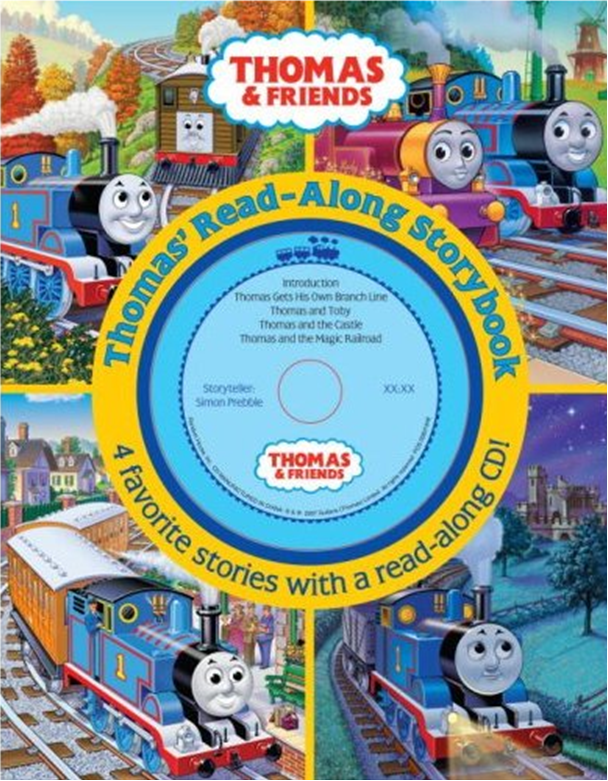 Thomas 39 ReadAlong Storybook Thomas the Tank Engine