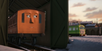 The Railcar and the Coaches