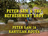 PeterSamandtheRefreshmentLadyFinnishtitlecard