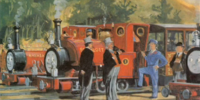 Skarloey Railway Saloon Coaches