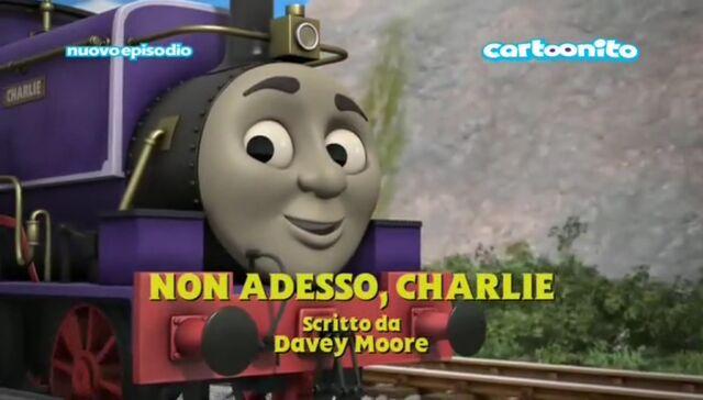 File:NotNow,Charlie!ItalianTitleCard.jpeg