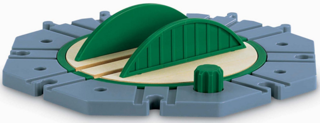File:WoodenRailwayGreenandGreyTurntable.png