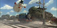 Thomas' Frosty Friend