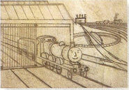 JamestheRedEngineAwdry'sEarlySketch