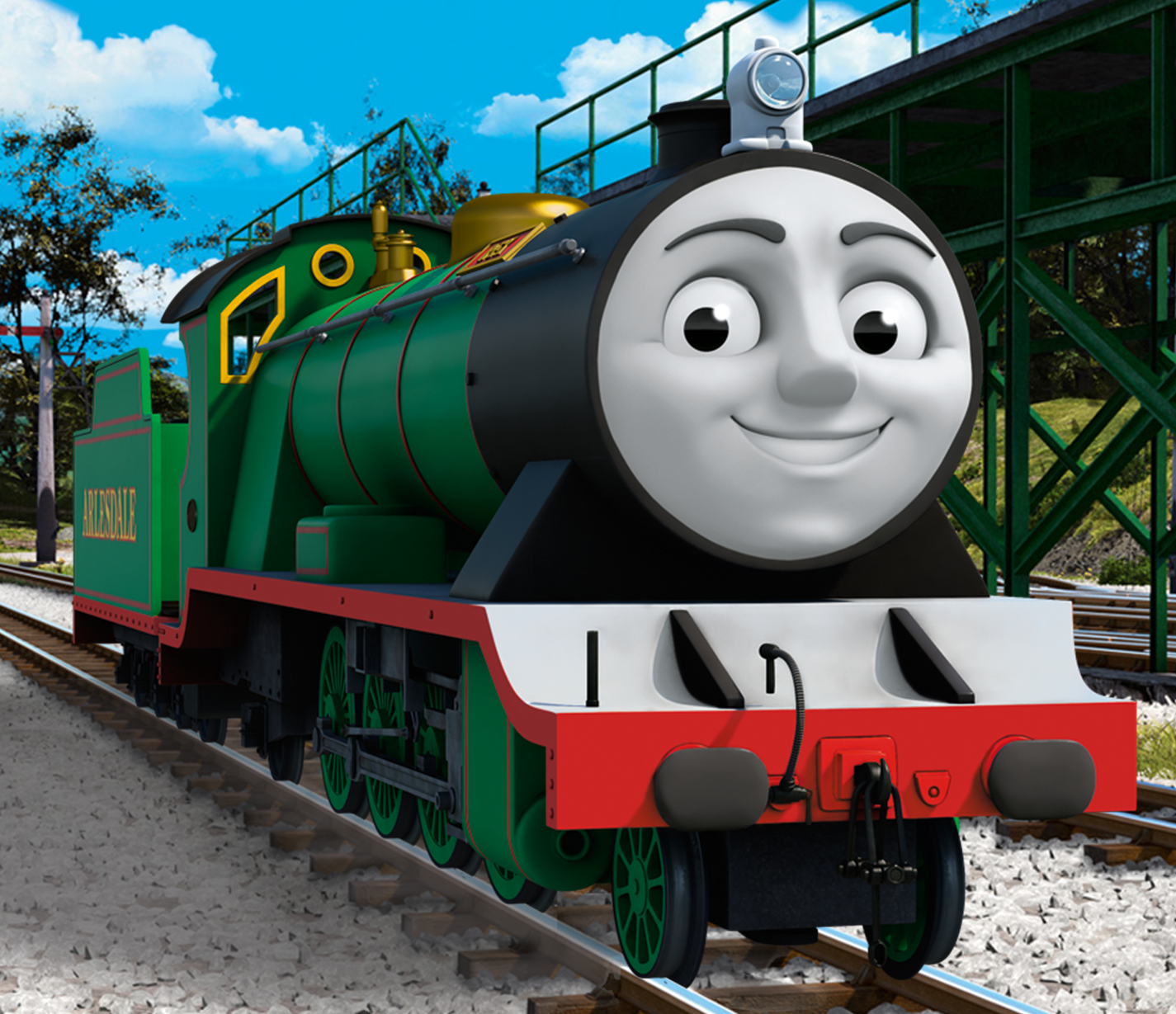 meet thomas henry the green engine promo