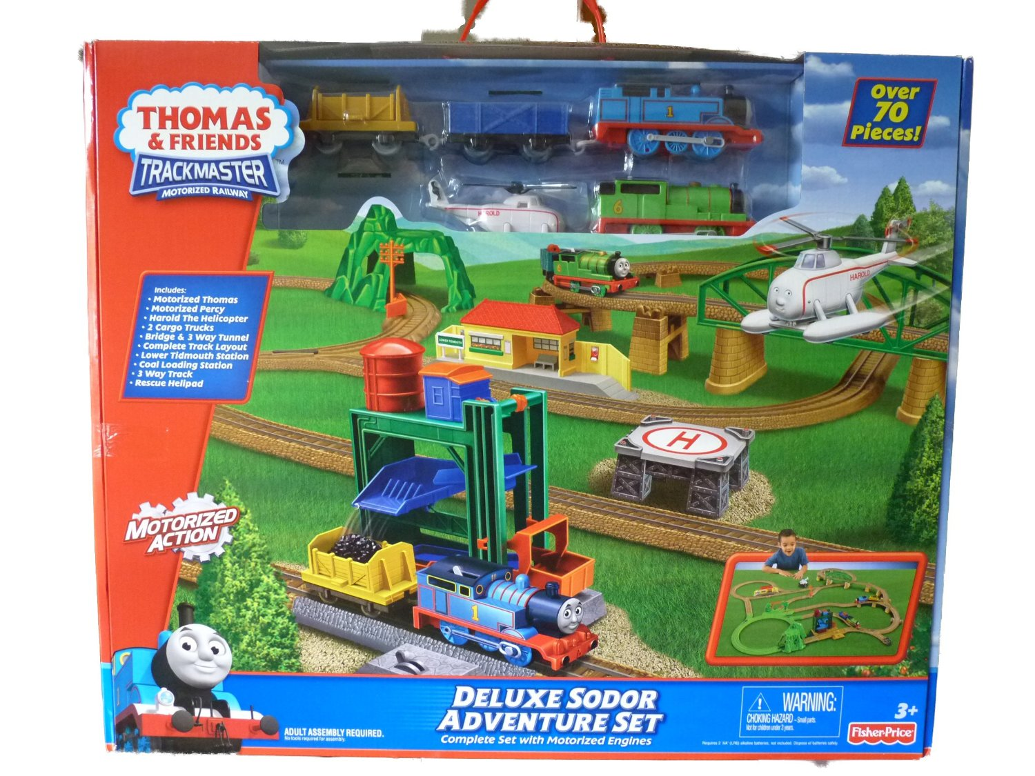 Deluxe sodor adventure set thomas and friends trackmaster wiki fandom powered by wikia - The sky pool a deluxe adventure ...