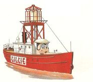 Lillie Lightship - TUGS Photobook Picture