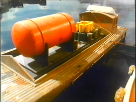 Pearl as an Oil Barge