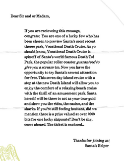 Vdc letter