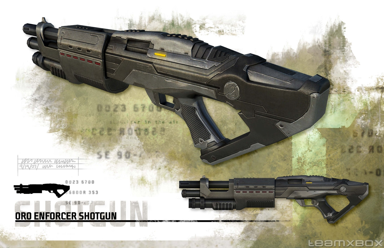 Oro Enforcer Shotgun Turok Wiki Fandom Powered By Wikia