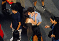 Kristen Robert kiss
