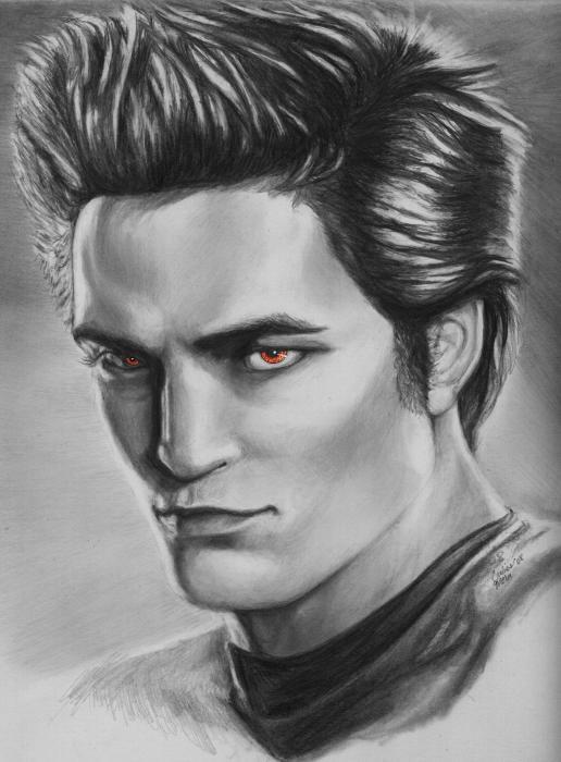 Image Edward Cullen Drawing Twilight Saga