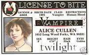 Alice cullen id card