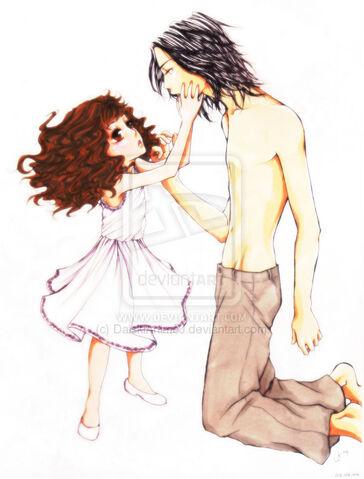 File:Jacob and Renesmee Colour by DaiskiAnimeJ.jpg
