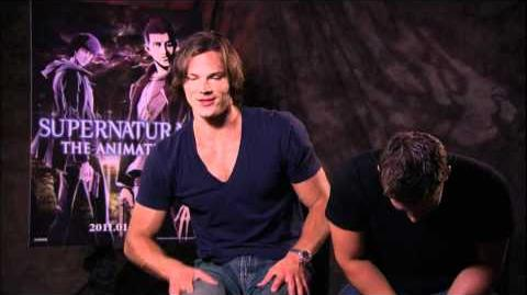 "Supernatural - Jared & Jensen complete interview ""The Animation"""