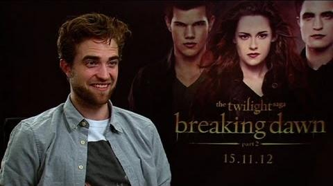 Sunrise - Robert Pattinson - the extended interview