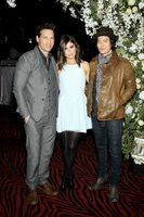 Peter Facinelli, Nikki Reed and Jackson Rathbone