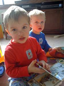 File:2 little monkeys josh and callum aged 2 yrs 3 months.jpeg