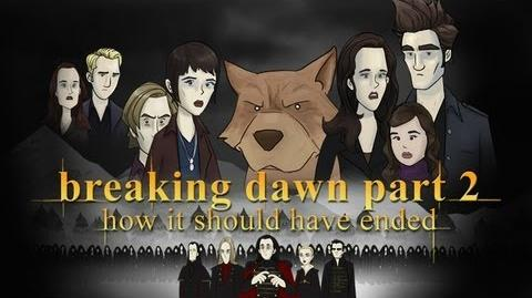 How Twilight Breaking Dawn - Part 2 Should Have Ended