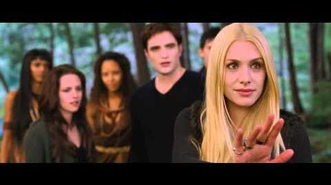 "THE TWILIGHT SAGA BREAKING DAWN - PART 2 - Fan TV Spot ""Vampires""."