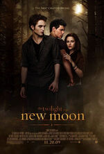 The Twilight Saga- New Moon poster