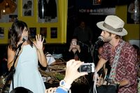 Nikki Reed and husband Paul McDonald musical performance 2