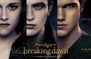 Bella, Edward, Jacob forever
