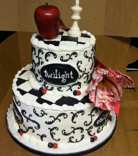Birthday cake-twilight7