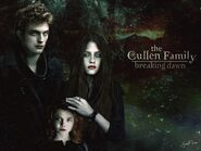 Edward, Bella and Rennesme